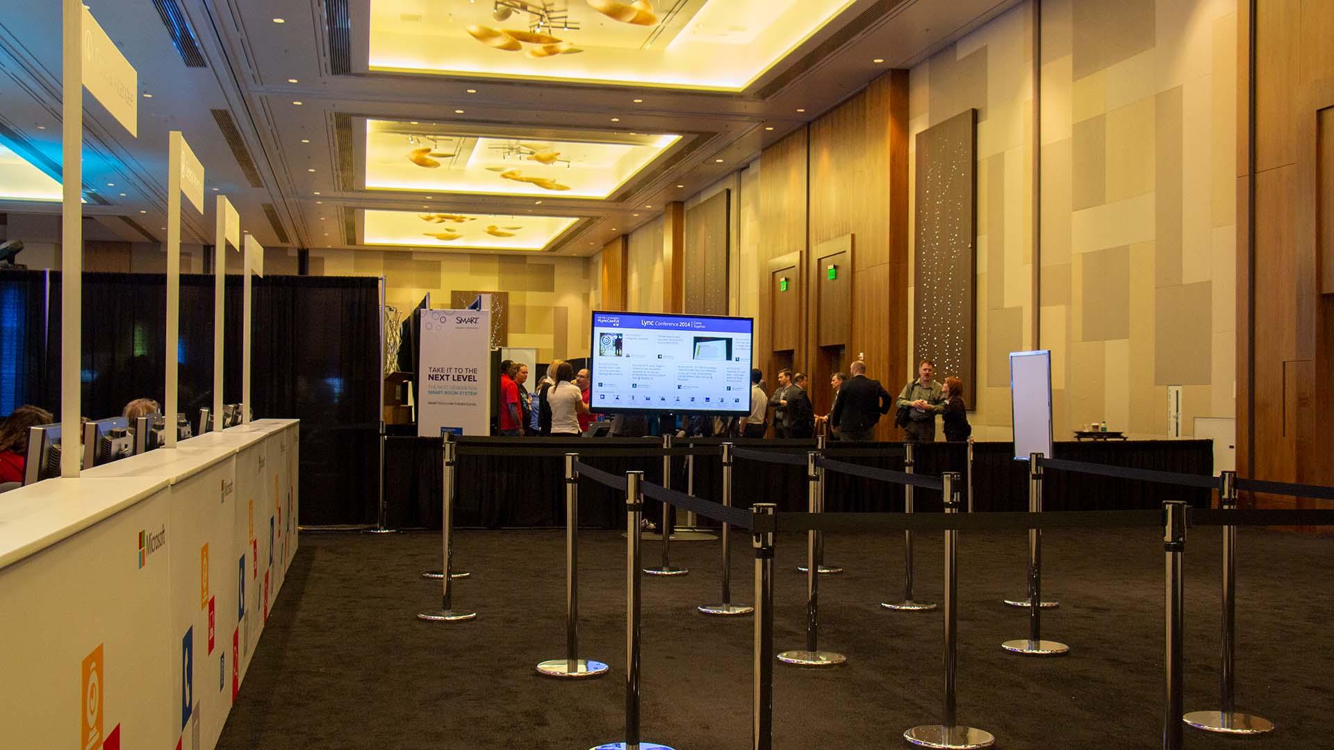 Microsoft Lync Conference Check-In