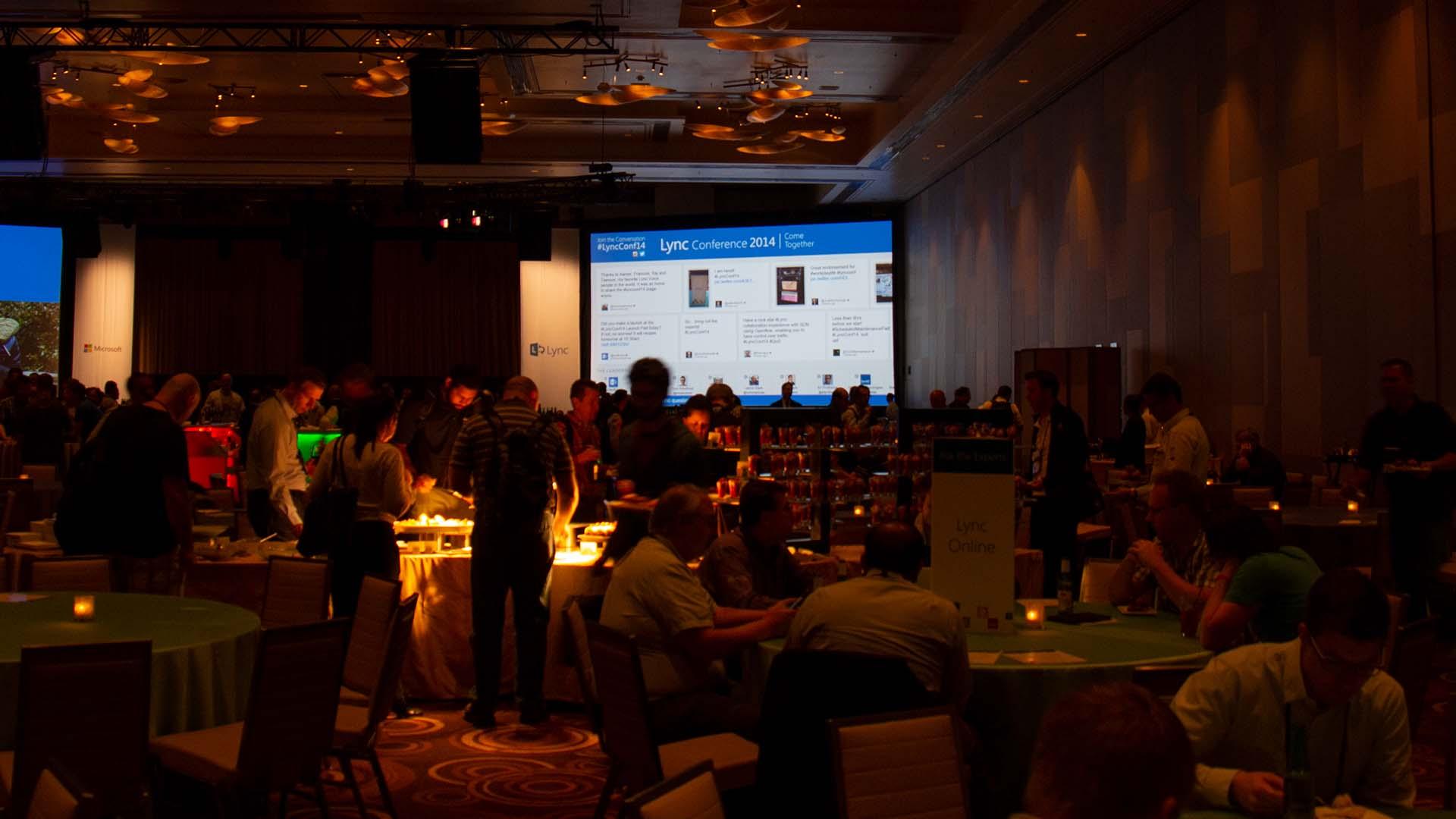 Microsoft Lync Conference Dinner