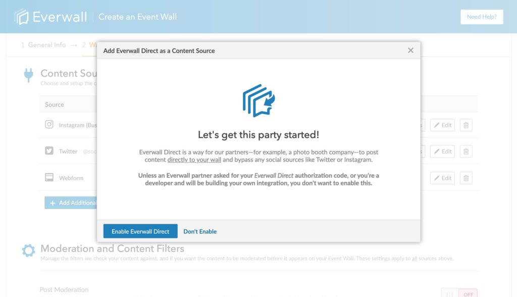 Everwall Direct Get Started