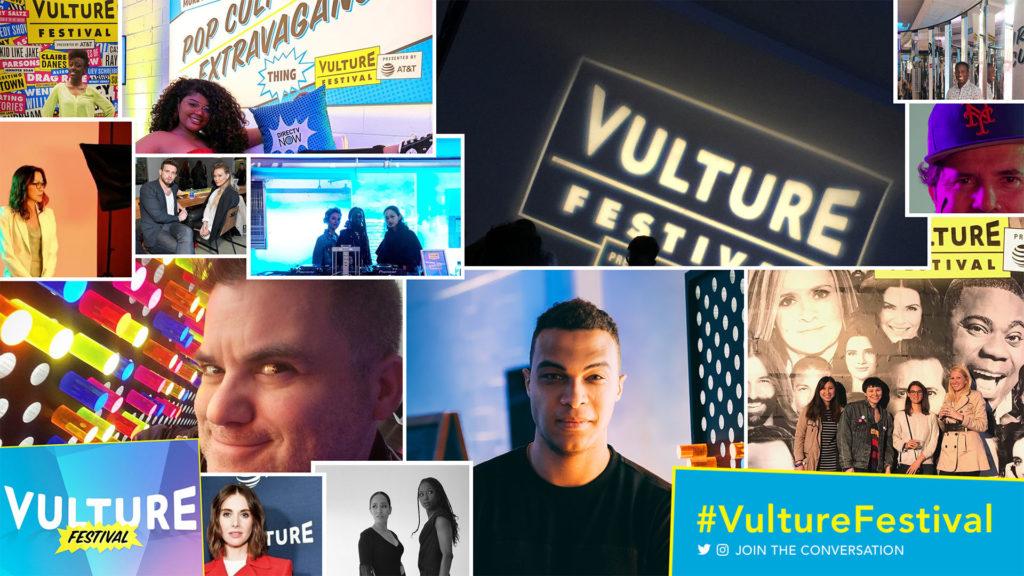 Custom Social Wall for Vulture Festival