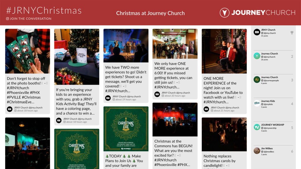 Journey Church (Seasonal Events)